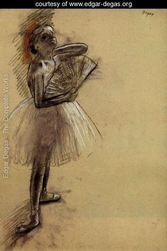 Dancer-with-a-Fan-I, Degas