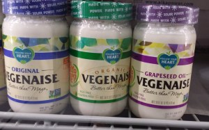 This is a good store-bought veggie mayo - from health food stores.