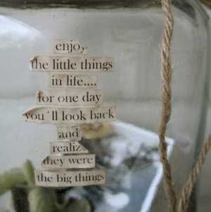 enjoy-the-little-things-life-quotes-sayings-pictures - Copy