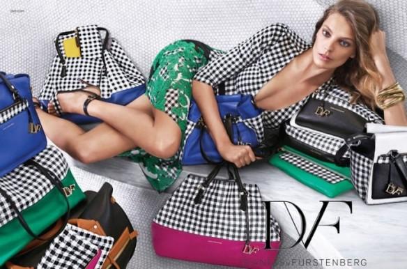 Diane Von Furstenburg Spring/Summer 2015 Ad Campaign.