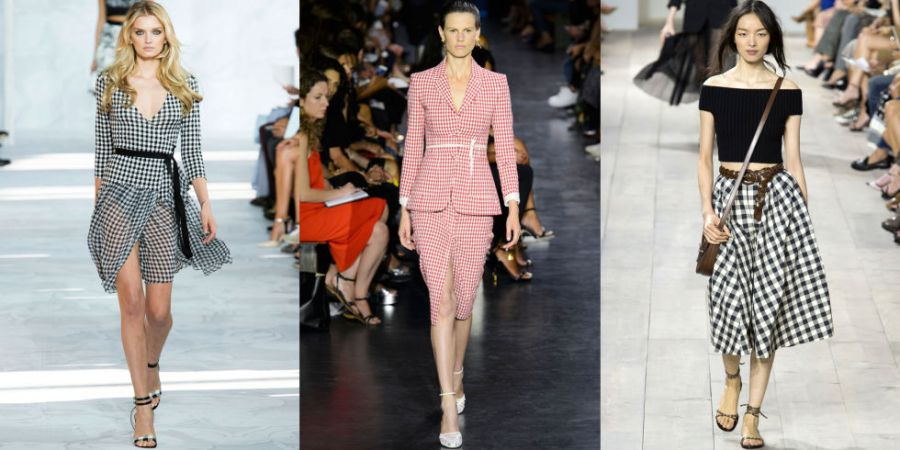 Diane von Furstenberg, Altuzarra and Michael Kors were all inspired to show gingham on their Spring 2015 runways, collectively creating the pattern's renaissance in the fashion world.