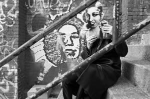 Henry as Josephine Baker