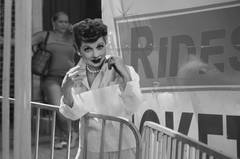 Henry as Lucille Ball