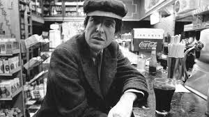 Leonard Cohen looking like Al Pacino here.