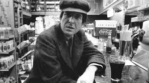 Leonard Cohen looking like Al Pacino here.