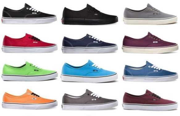 Vans in all the right shades
