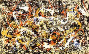Convergence, 1952 by Jackson Pollock