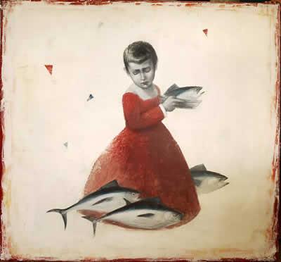 A piece by Pablo Zel in ArteBA 2012