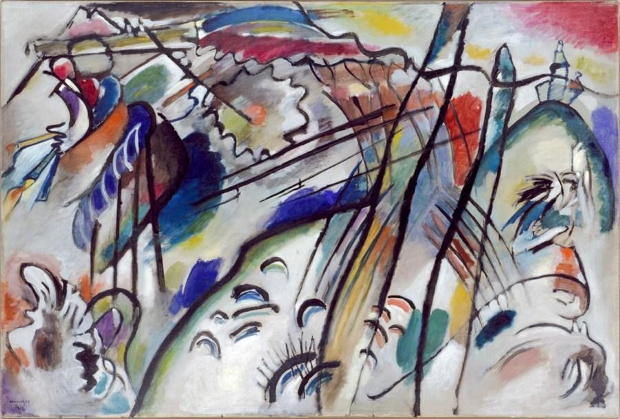 Improvisation 28 (second version) (Improvisation 28 [zweite Fassung]) by Vasily Kandinsky, 1912 Courtesy of Solomon R. Guggenheim Museum, New York, Solomon R. Guggenheim Founding Collection