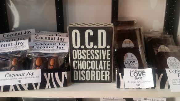 Yeah, I'm OCD!