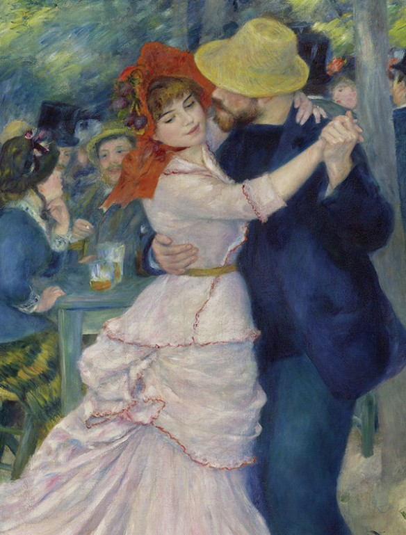 Renoir's Dance at Bougival, 1883, is one of the masterworks that seduced Londoners in the famous show Durand-Ruel presented at the Grafton Galleries in 1905. Image courtesy of the Museum of Fine Arts, Boston