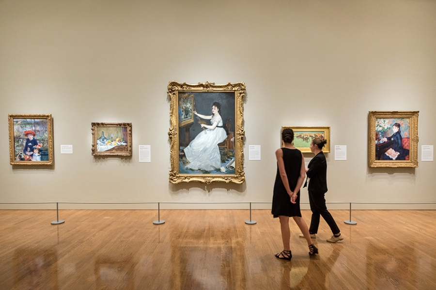 """Discovering the Impressionists: Paul Durand-Ruel and the New Painting"" features more than 90 intoxicating canvases by the movement's masters. Photo by Graydon Wood"
