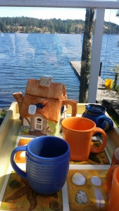 Tea Time on Prospect Lake