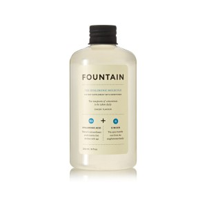 Drinkable Hyaluronic Acid Spike your favorite drink with 2 teaspoons of this liquid hyaluronic acid to plump your complexion and keep skin hydrated. The Hyaluronic Molecule, Fountain $30