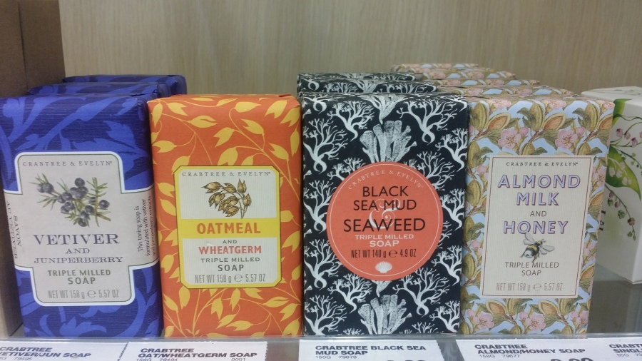 Lovely packaging from Crabtree & Evelyn - London Drugs