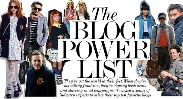 The power bloggers –  they appeal to what people are looking for