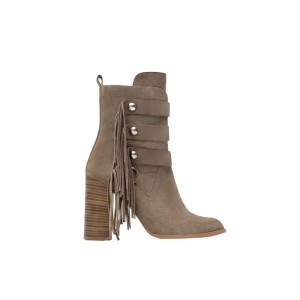 Fringe Ankle Boots - Zara, $120