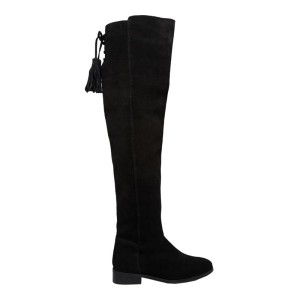 Suede Over The Knee Boots, ASOS $108