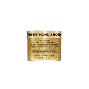 Peter Thomas Roth 24K Gold Mask, $80; peterthomasroth.com