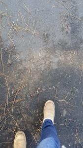 patterns on pavement