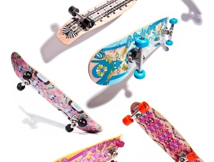Emilio Pucci Limited Edition Skateboards