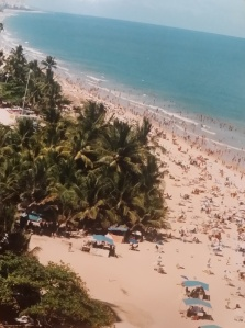 View from hotel room in Recife, Brazil. Photo: d. king