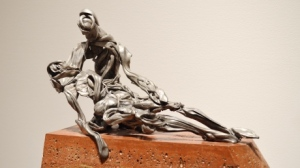 'Pieta' by sculptor David Robinson, one of the artists whose studio is open to the public for the Eastside Culture Crawl. (David Robinson )