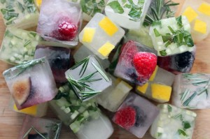 Good garnish...who uses plain ice cubes any more?