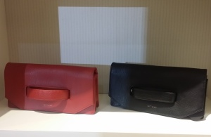These Canadian made clutch bags come in handy after the holidays too. I love the ease of the handle. KATE FRENCH Wear - Vancouver.