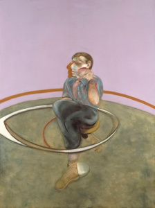 Francis Bacon, Self-Portrait, 1978. Oil on canvas. © The Estate of Francis Bacon. All rights reserved. / DACS, London .