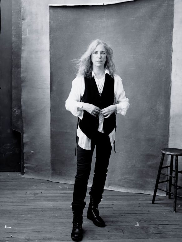 Singer Patti Smith. Photo: Annie Leibovitz/Pirelli Calendar