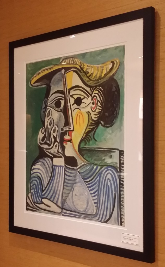 Picasso Print - the original was in exhibit