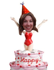 jumping out of my cake