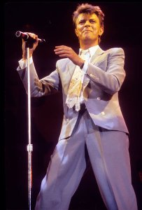 Guess I love a well-dressed bowie best. Photo: Richard E. Aaron/Redferns