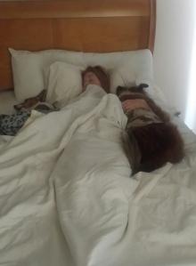 But I ended up like this...2 boytoys when I awoke