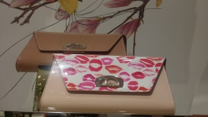 And what woman wouldn't love to get her clutches on a lipstick clutch bag - this is from Nordstrom (couldn't help myself)