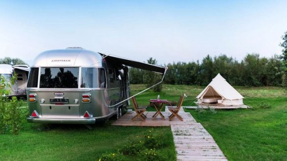 Italy Airstream Park Photo: Courtesy of Italy Airstream Park
