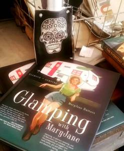 glamping with Debbie & a flask helps!
