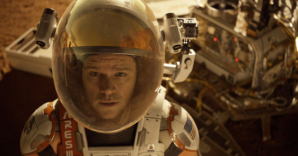 The Martian (semi-comedy)