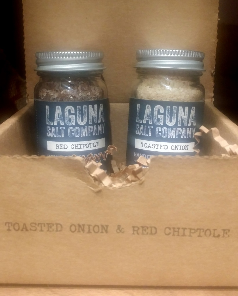 For the Gourmand in him/her - Gourmet salts. This is Toasted Onion &