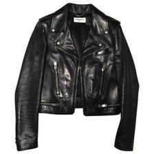 St. Laurent Leather Biker Jacket