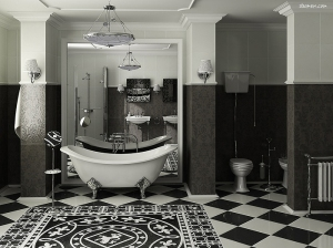 I have a bathtub just like this. I always wanted an old fashioned tub.