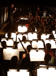 The Vancouver Opera Orchestra conducted by Leslie Dala. Photo: Tim Matheson