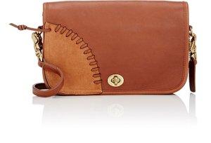 COACH VINTAGE Circa-1973 Coach British Tan Leather Rip & Repair Small Dinky Bag $695