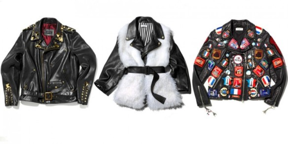 Left: Givenchy by Riccardo Tisci. Middle: Joseph Alturzzara. Right: Dries Van Noten