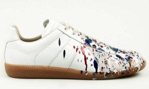 "Maison Margiela's popular ""Pollock"" sneaker Photo: Courtesy of Maison Margiela"