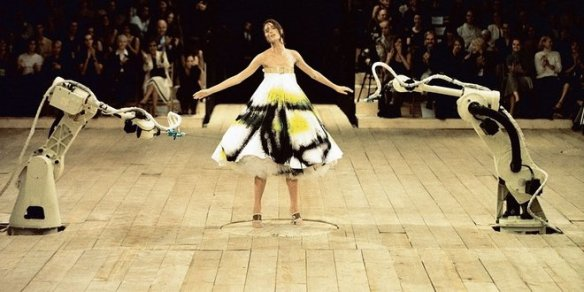 Alexander McQueen Spring 1999 Photo: Courtesy of Alexander McQueen