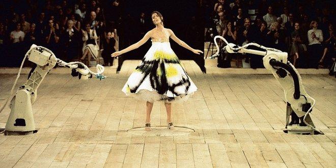 Alexander McQueen Spring 1999 Photo: Courtesy of Alexander McQueen