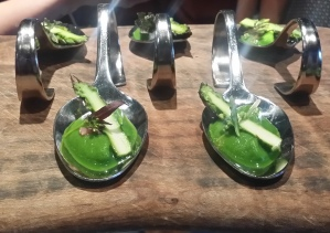 Asparagus coulis