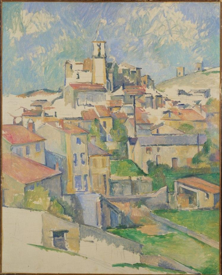 Paul Cézanne (French, 1839–1906) Gardanne 1885–1886 Oil on canvas 31 1/2 x 25 1/4 in. (80 x 64.1 cm)